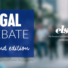 Legal Debate (Event photo)